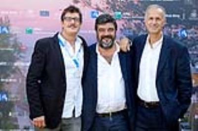 Giuseppe Gabardini, Francesco Pannofino, Roberto Citran